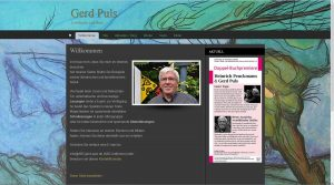 Gerd Puls Webside screenshot