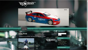 Team Watzl webside screenshot