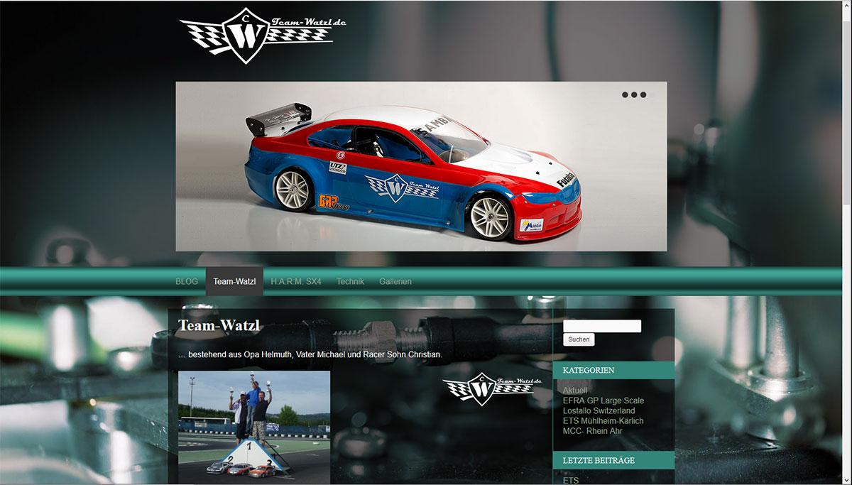 Team-Watzl.de online!